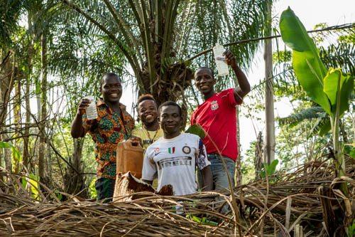 Il vino di palma: mimbo nel camerun, conosciuto anche come toddy