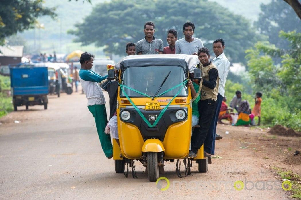 Trasporti in India all'uscita del mercato
