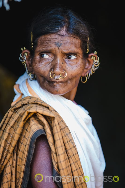 tribù dongria kondh tribù adivasi orissa odisha india