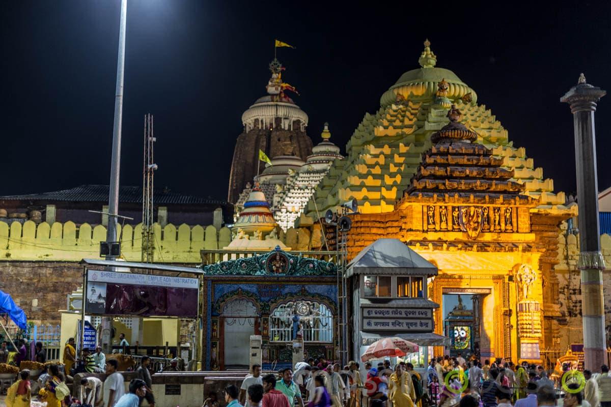 Tempio di Jagannath a Puri - luoghi sacri dell'induismo