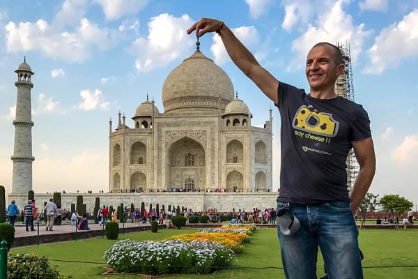 Taj Mahal: se non l'hai visto.. adesso è ora!!