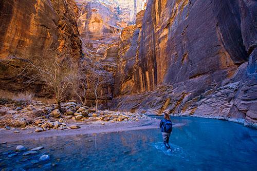 Escursione nello Zion Canyon National Park