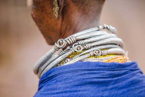 Tribù Bonda in Orisssa - Viaggio in India