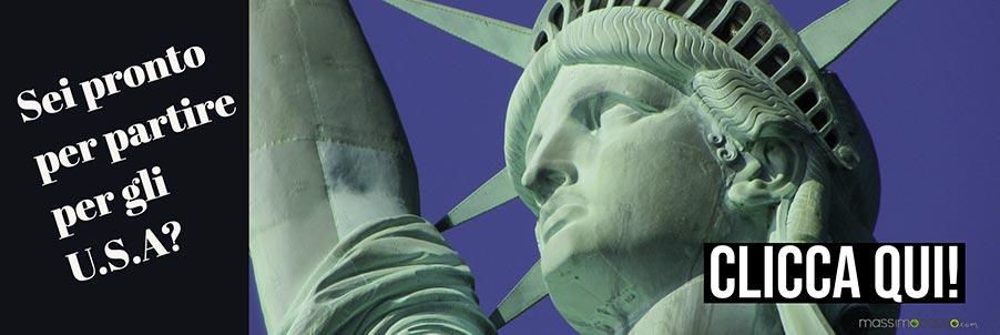 Parti per gli Stati Uniti