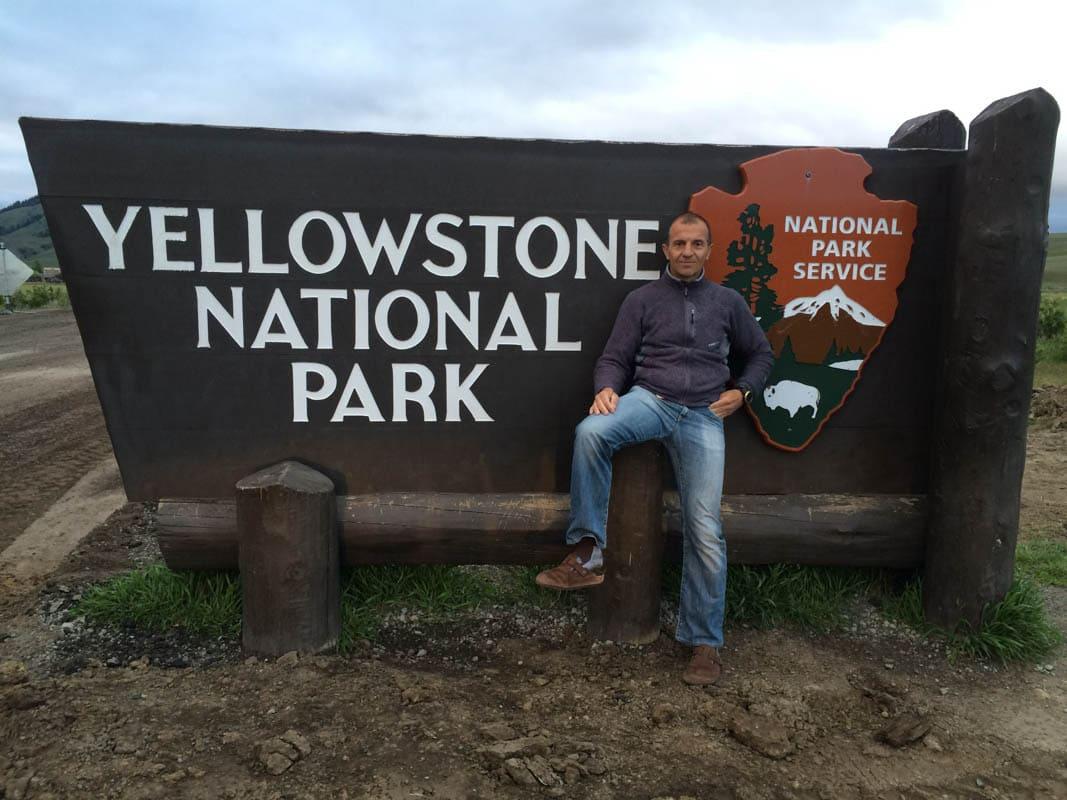 Entrata del Parco di Yellowstone