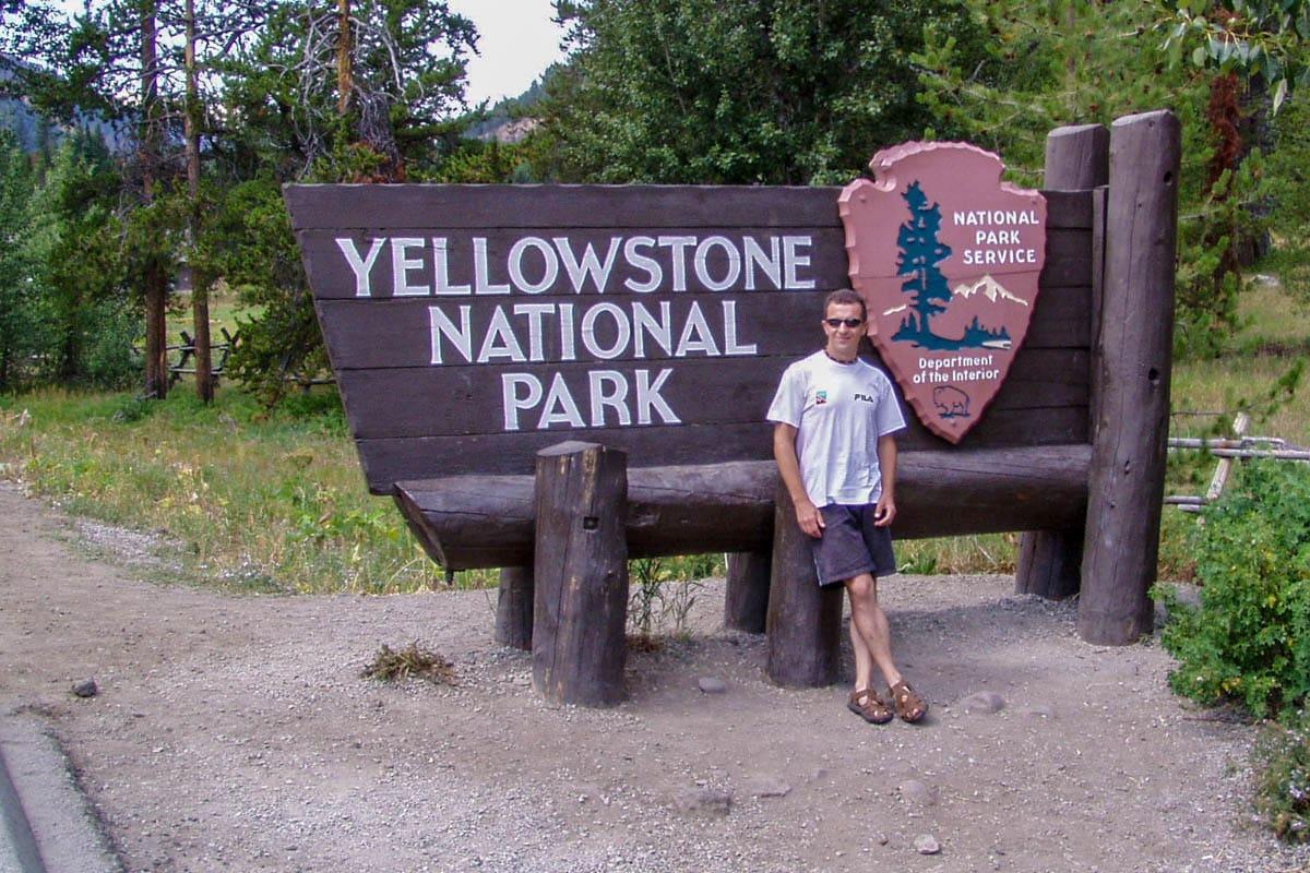 Entrata Est del Parco nel 2003