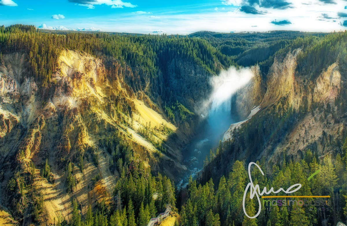 Lower Falls del fiume Yellowstone
