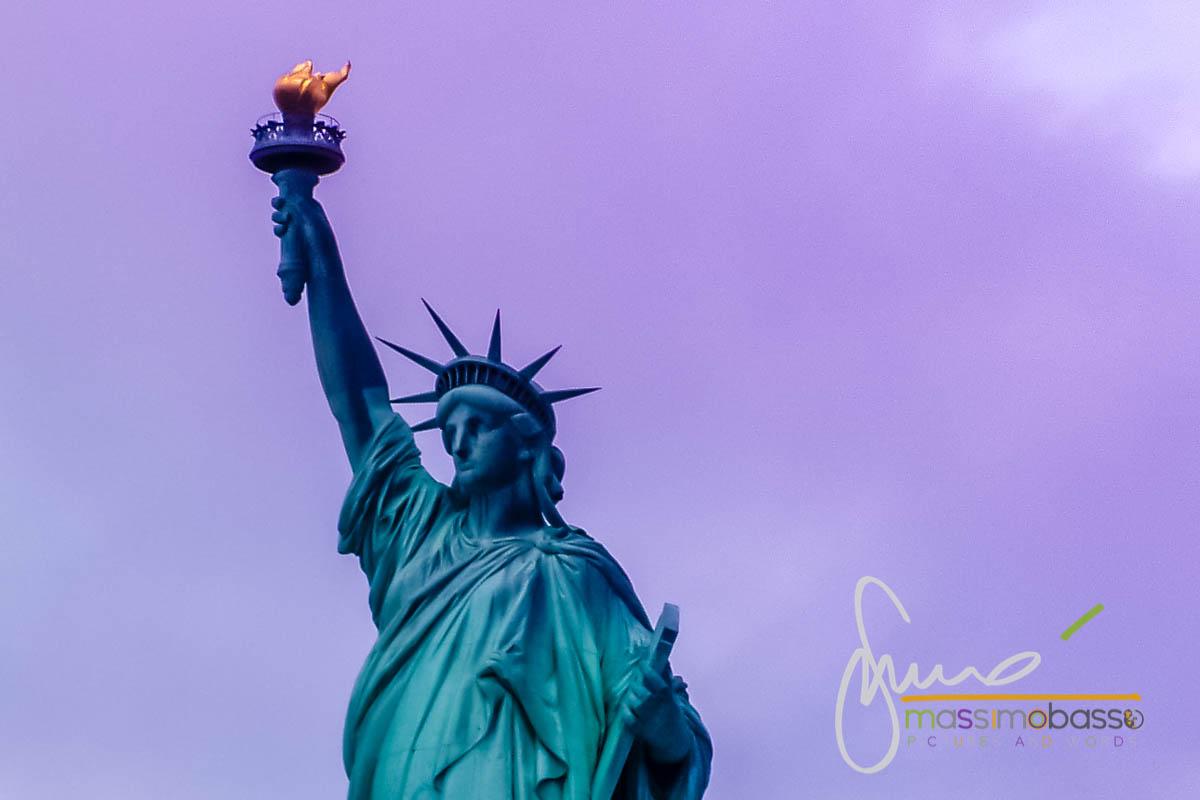 Statua della Liberta' - visita New York in Maggio
