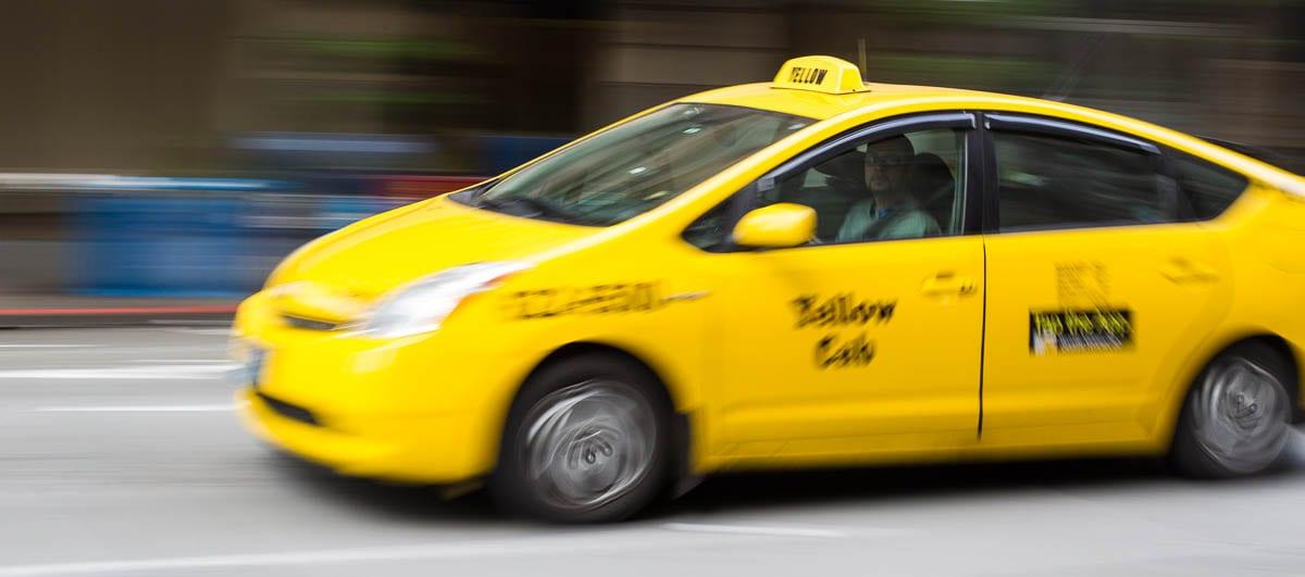 Taxi giallo, un must per il vostro viaggio in America