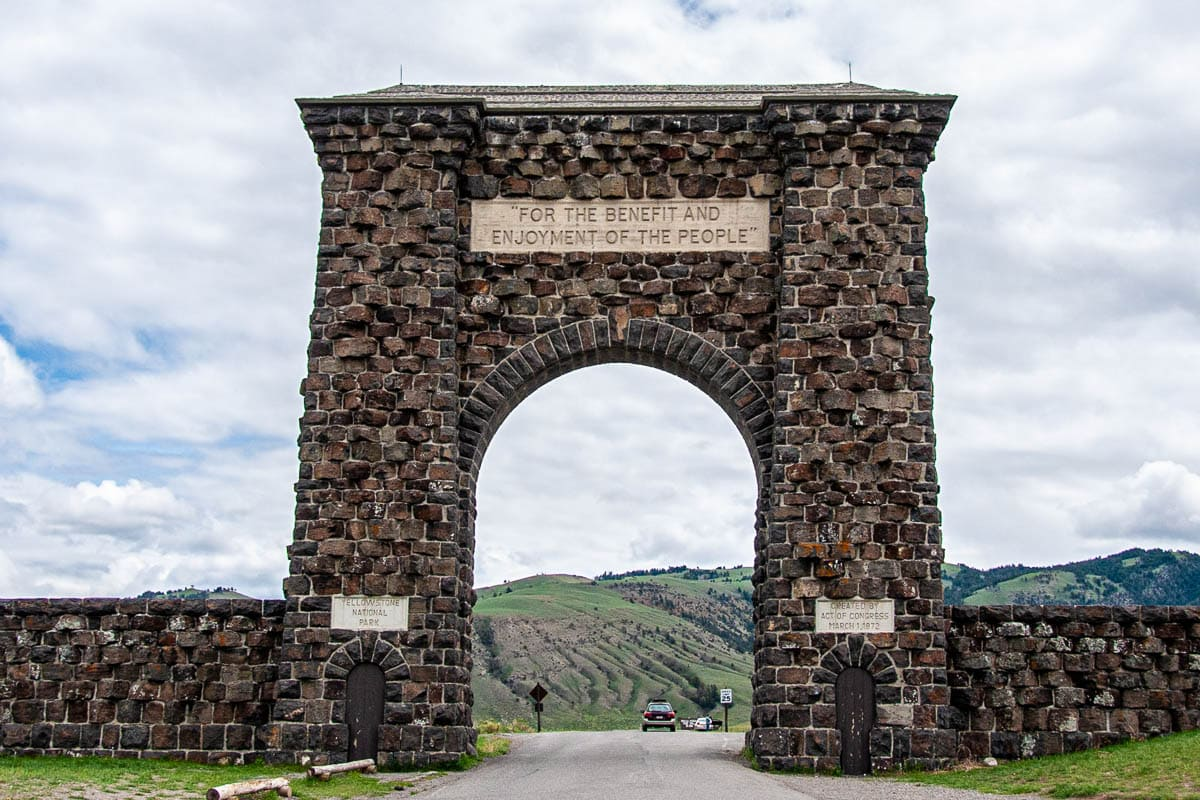 Ingresso nord - Yellowstone