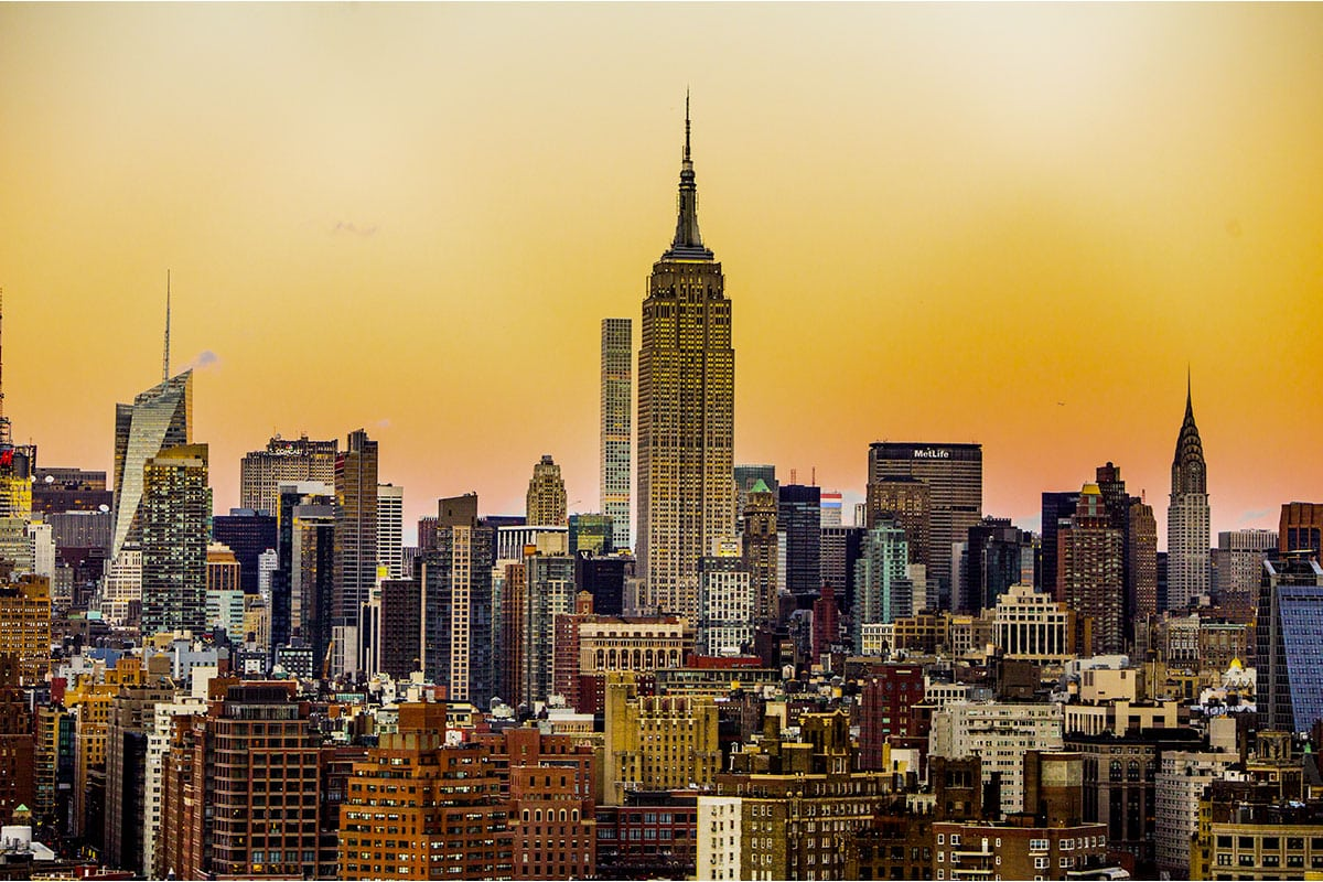 Skyline di New York - visita New York in Maggio