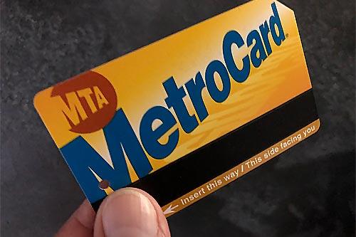 Metrocard di New York