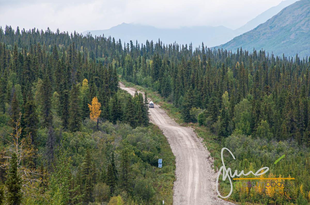 Strade che è possibile incontrare durante il viaggio in Alaska in auto