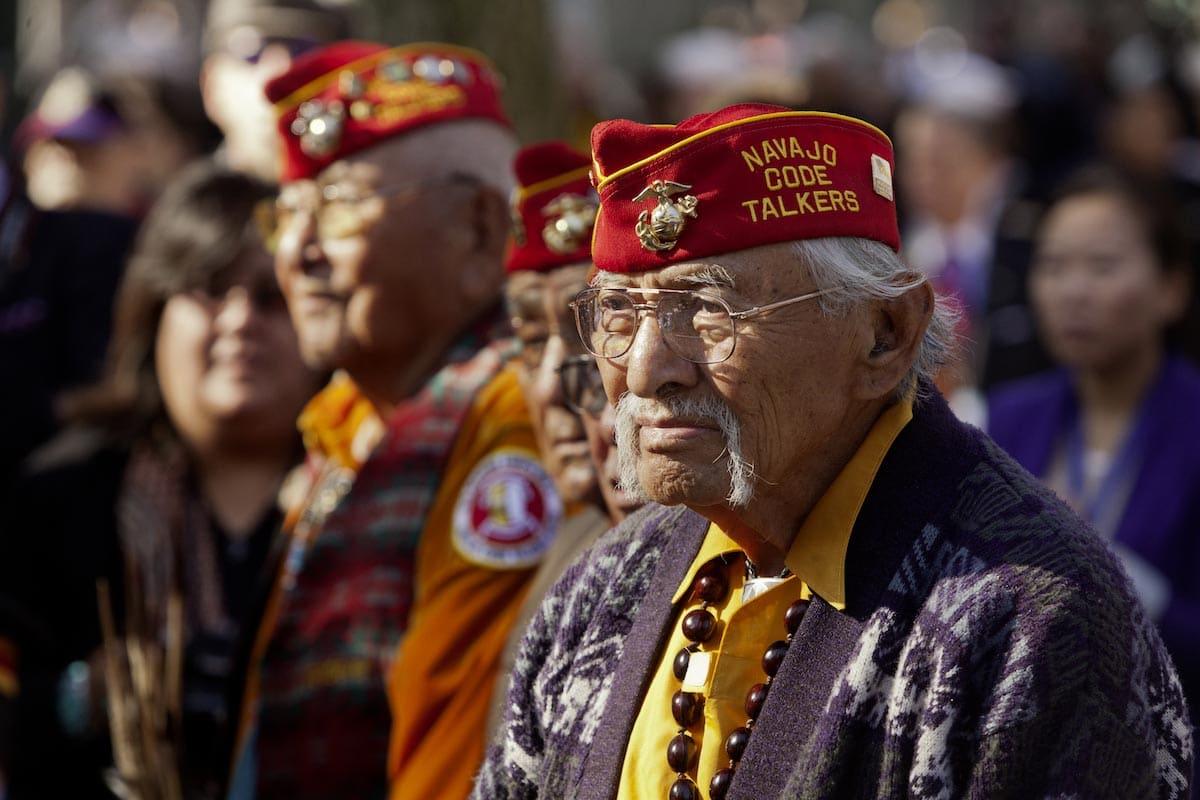 Commemorazione Navajo Code Talkers