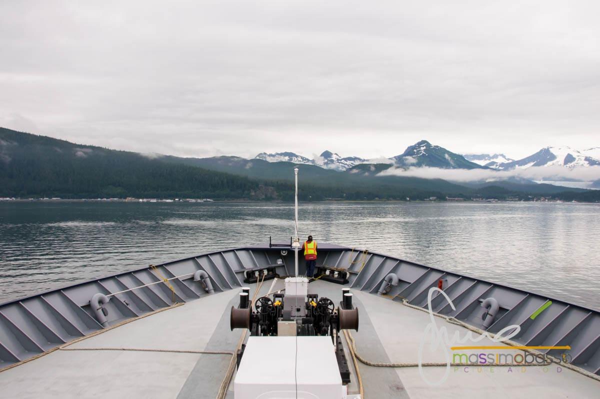 In arrivo a Juneau, capitale dell'Alaska Inside Passage