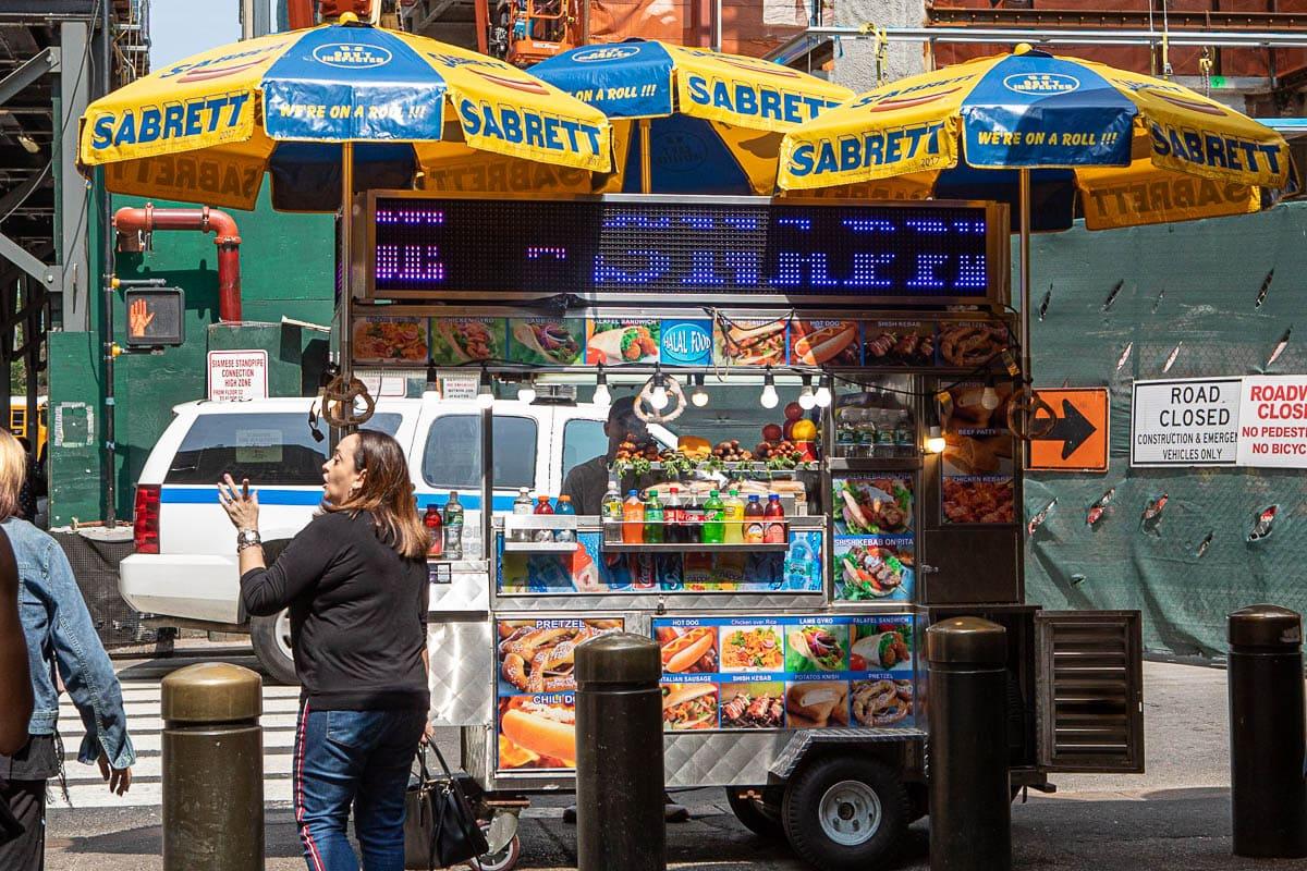 Truck food fast food all'americana