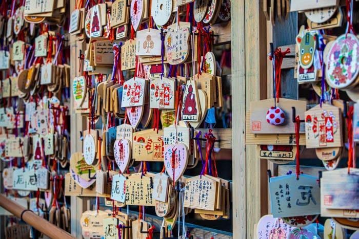 Immagini Ema le tavolette votive giapponesi