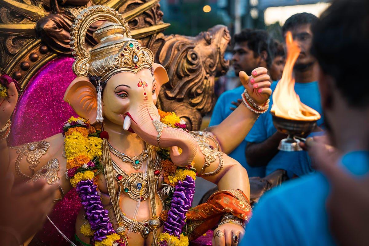 Ganesha il dio dalla testa di Elefante
